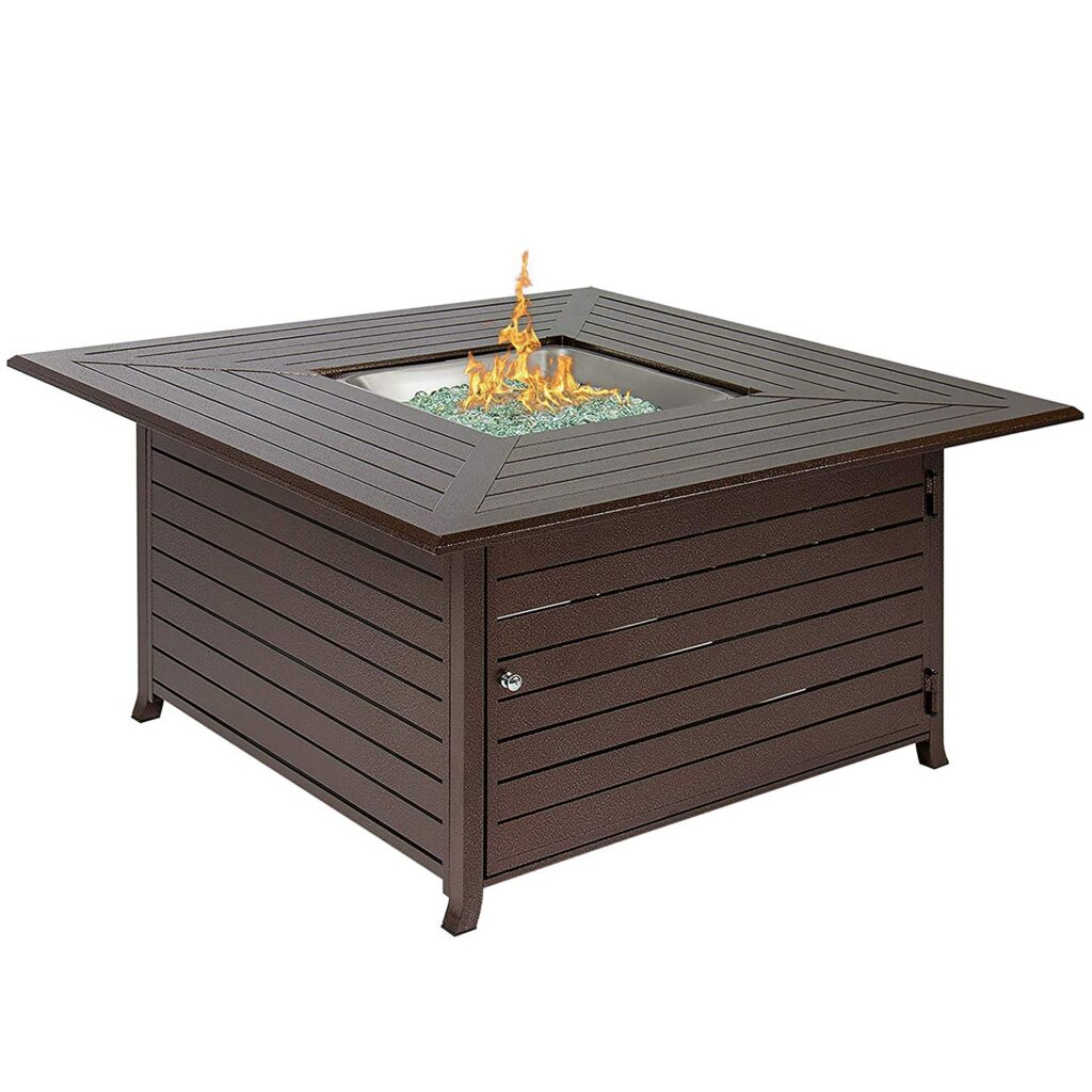 Best Choice Products Gas Fire Pit Table